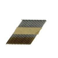 Реечные гвозди 34 градуса 2.87x63 мм ершеные гальванизированные