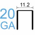 Скоба тип 20GA