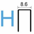 Скоба тип 92 (102/H)