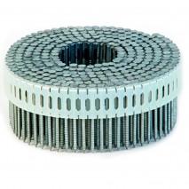 Гвозди на пластиковой ленте 2,5х55 мм оцинкованные кольцевые