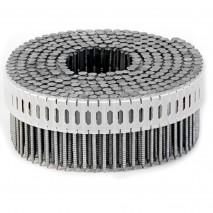 Гвозди на пластиковой ленте 2,5х50 мм оцинкованные кольцевые